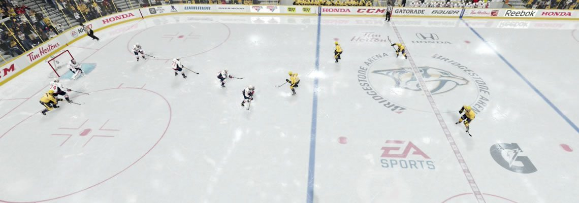 Players preparing to pressure the puck along the opposing teams blue line. 1-2-2 Blue Neutral Z.one.