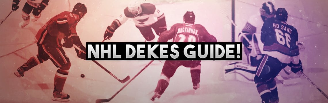 NHL 19 Dekes Guide